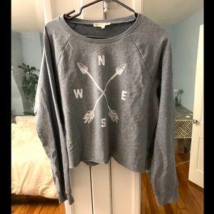 Synergy loose medium fit long sleeve shirt